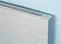 Bisque Decorative Panel Horizontal Radiator