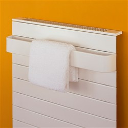 Bisque Decorative Panel Towel Radiator