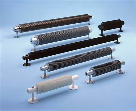 Bisque Flow Form Electric Radiator