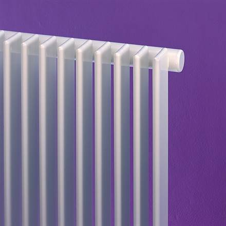 Bisque Finn Vertical Designer Radiator