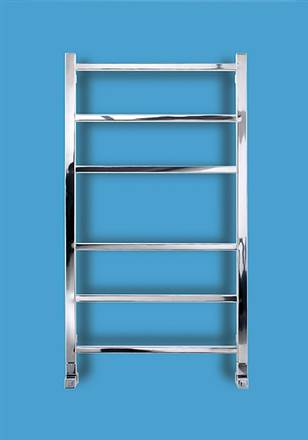 Bisque Gio Stainless Steel Electric Heated Towel Rail