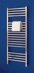 Bisque Quadrato Stainless Steel Heated Towel Rail