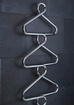 Bisque Archibald Electric Heated Towel Rail
