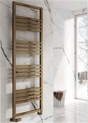 Reina Bolca Aluminium Heated Towel Rail - Bronze Satin