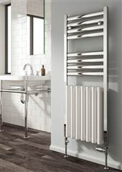 Reina Burton Aluminium Heated Towel Rail