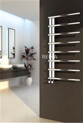 Reina Celico Stainless Steel Designer Heated Towel Rail