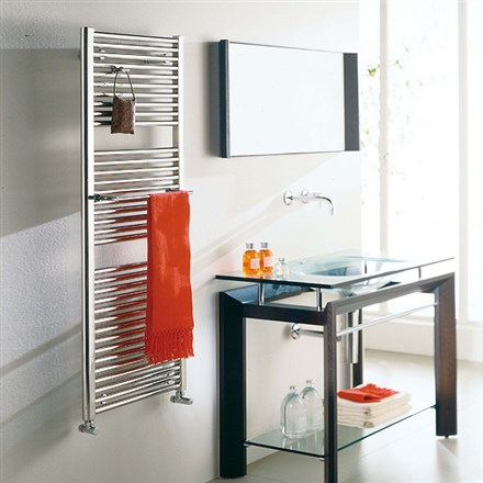 Cordivari Claudia Inox Stainless Steel Heated Towel Rail