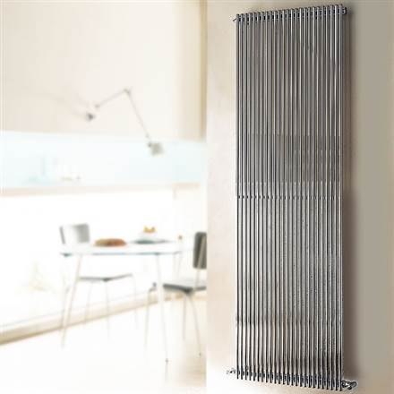 Cordivari Giada Vertical Polished Stainless Designer Radiator