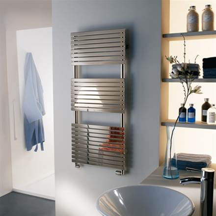 Cordivari Stefania Stainless Steel Heated Towel Rail -