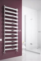 Reina Deno Stainless Steel Straight Heated Towel Rail