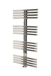 Apollo Garda Sail Polished Stainless Steel Heated Towel Rail