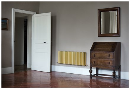 Eskimo Ron Gold Aluminium Radiator 1800mm High