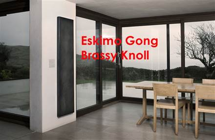 Eskimo Outline Gong Electric Flat Panel Radiator