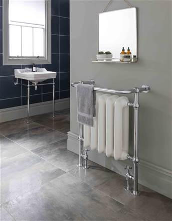 The Radiator Company Linton Traditional Heated Towel Rail