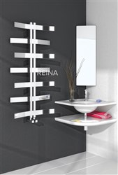 Reina Lioni Stainless Steel Designer Heated Towel Rail