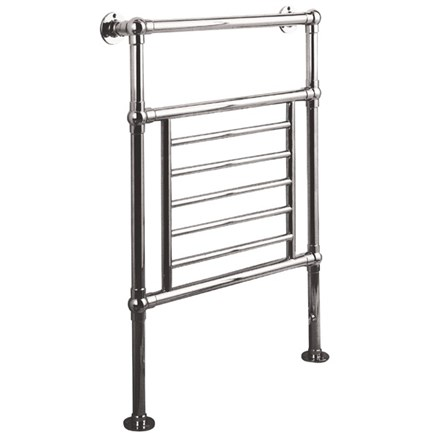Reina Loreno Traditional Floor Mounted Heated Towel Rail