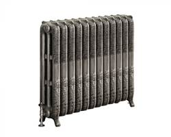 DQ Double Quick Loxley Cast Iron Radiator - 768mm High