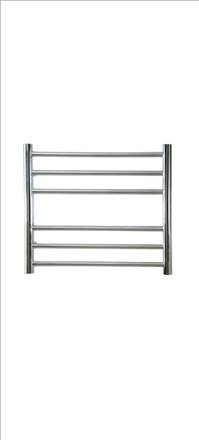 Reina Luna Flat Stainless Steel Straight Heated Towel Rail