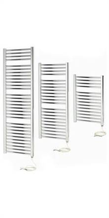 Apollo Napoli Straight White Sealed Electric Towel Radiator