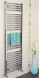 Apollo Napoli Curved Chrome Towel Radiator