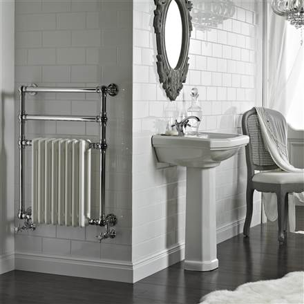 Vogue Regency Wall Mounted Heated Towel Rail -LG036/OG009