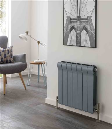 The Radiator Company Ottimo Aluminium Radiator - 598mm Height