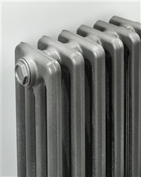 The Radiator Company Priory 3 Column Lacquered Cast Iron Radiator