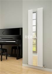 Reina Reflect Vertical Mirror Designer Radiator