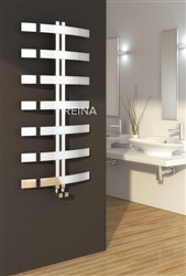 Reina Riesi Stainless Steel Designer Heated Towel Rail