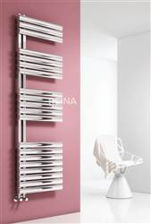 Reina Scalo Stainless Steel Designer Heated Towel Rail