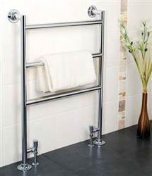 Apollo Siena Floor Mounted Towel Rail