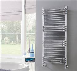 Vogue Tempo Wall Mounted Heated Towel Rail MD072