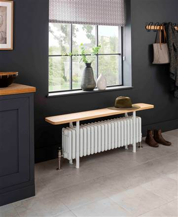 The Radiator Company Ancona Bench Radiator Seat Vertical
