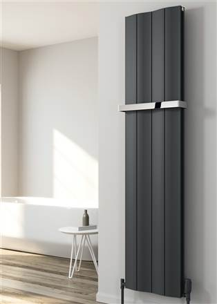 Reina Wave Vertical Aluminium Radiator
