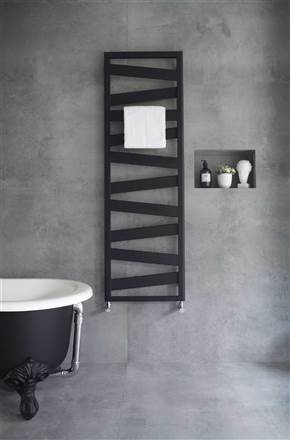 Zehnder Ribbon Electric Heated Towel Rail